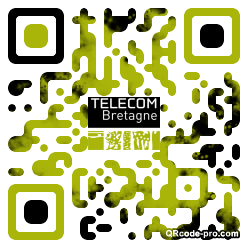 QR code with logo AVf0