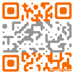 QR code with logo Acf0