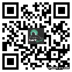 QR code with logo Acx0