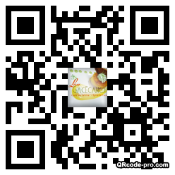 QR code with logo AfW0
