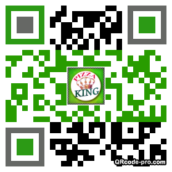QR code with logo Ag20
