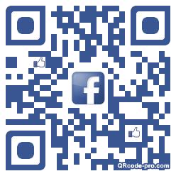 QR code with logo AhV0