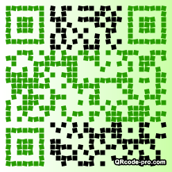 QR code with logo Ahe0