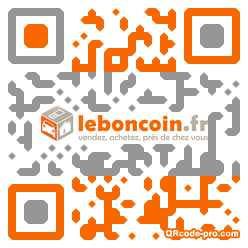 QR code with logo AiL0