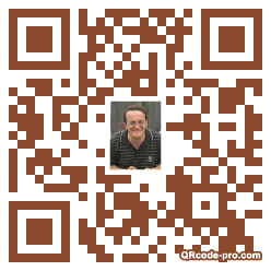 QR code with logo AoK0