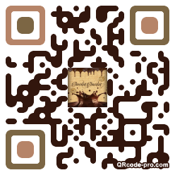 QR code with logo Aog0