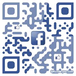 QR code with logo AtA0
