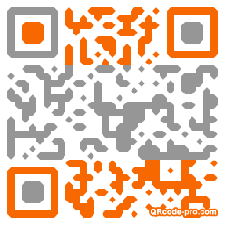 QR code with logo B760