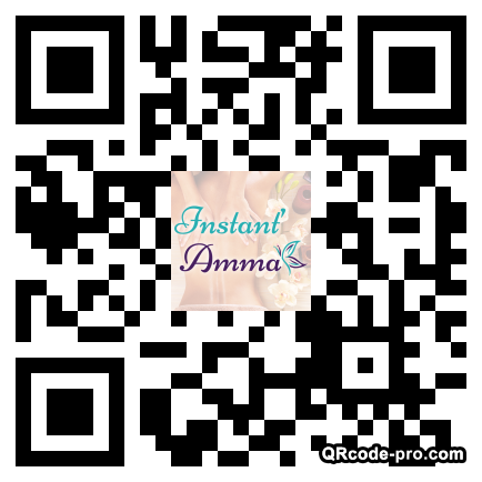 QR code with logo BFp0