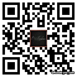 QR code with logo BJk0