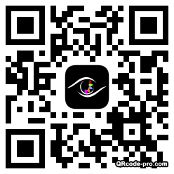 QR code with logo BLd0