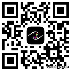 QR code with logo BLd0