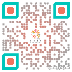 QR code with logo BYK0