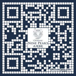 QR code with logo Bar0