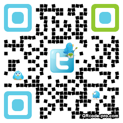 QR code with logo Bb50