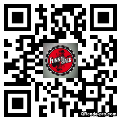 QR code with logo Beb0