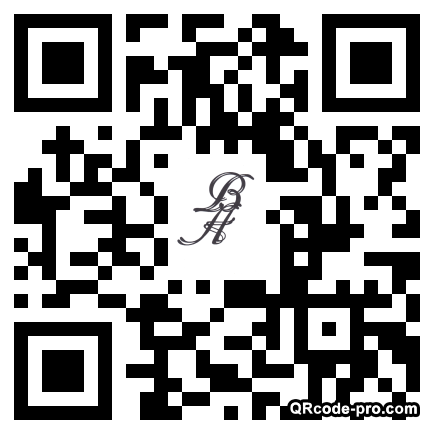 QR code with logo Bvr0