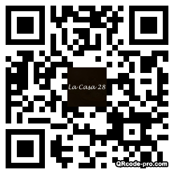 QR code with logo ByF0
