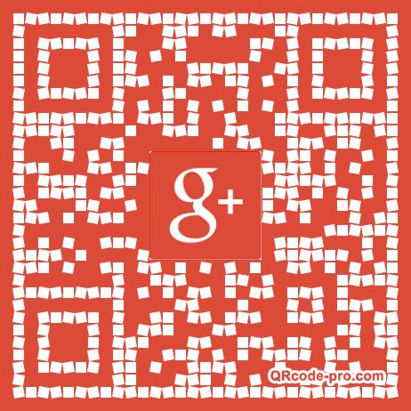 QR code with logo BzQ0