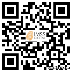 QR code with logo C250