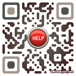 QR code with logo C4g0