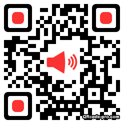 QR code with logo CD70