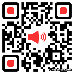 QR code with logo CD80