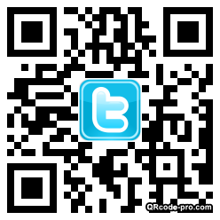 QR code with logo CET0