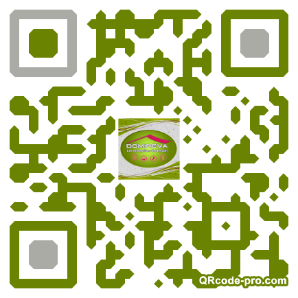 QR code with logo CP10
