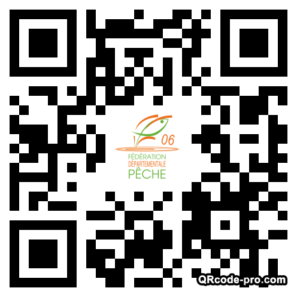 QR code with logo Ced0