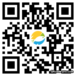QR code with logo CfN0
