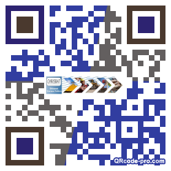 QR code with logo Cr70