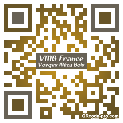 QR code with logo CrR0