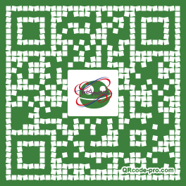 QR code with logo D3S0