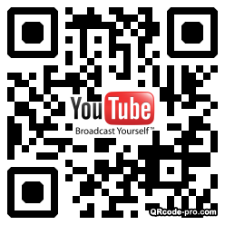 QR code with logo D600
