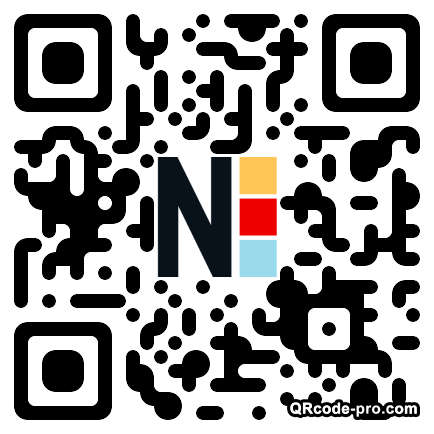 QR code with logo DIv0