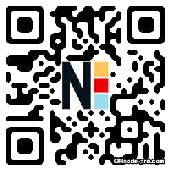 QR code with logo DIx0