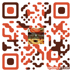 QR code with logo DT40