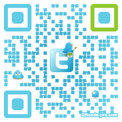 QR code with logo DTH0