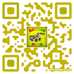 QR code with logo DTu0