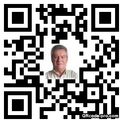 QR code with logo DYb0