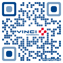 QR code with logo DYl0