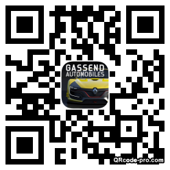 QR code with logo DZD0