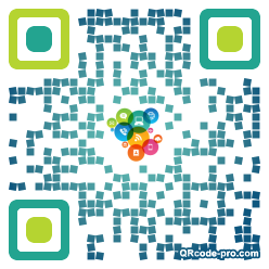 QR code with logo Df00