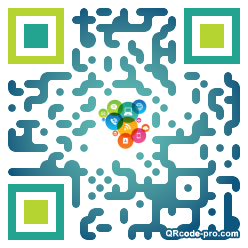 QR code with logo DhG0