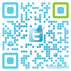 QR code with logo DnO0