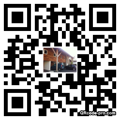 QR code with logo Dsk0