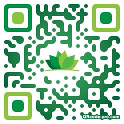 QR code with logo E8a0