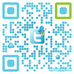QR code with logo EAE0