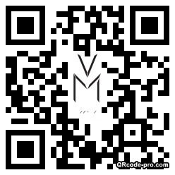QR code with logo EXV0